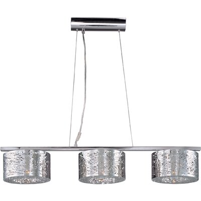 Inca 3 Light Kitchen Island Pendant