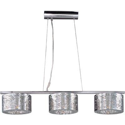 Wildon Home ® Shanon 3 - Light Linear Pendant