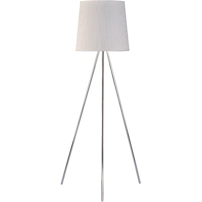 ET2 Percussion Floor Lamp in Polished Chrome