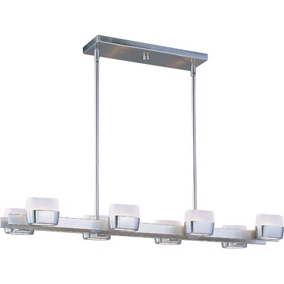 Ellipse 8 Light Kitchen Island Pendant