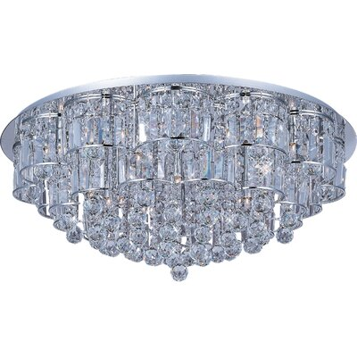ET2 Bangle 28 Light Flush Mount