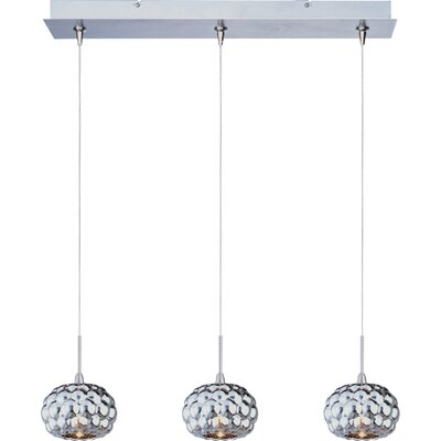 Wildon Home ® Minx Three RapidJack Light Linear Pendant