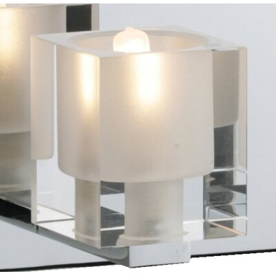 Wildon Home ® Speech 4 - Light Bath Vanity