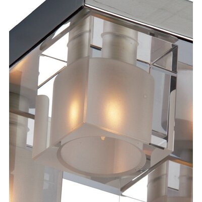 ET2 Blocs 4 Light Semi Flush Mount