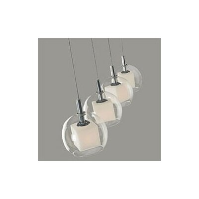 ET2 Nucleus 4 Light Linear Pendant