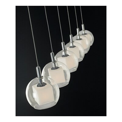 ET2 Nucleus 6 Light Linear Pendant