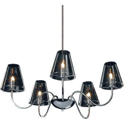 Wildon Home ® Doon 5 - Light Chandelier