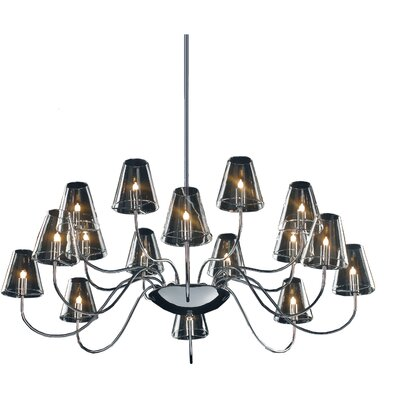 Chic 16-Light Chandelier