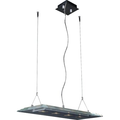 Wildon Home ® Wakeburg 5 - Light Linear Pendant
