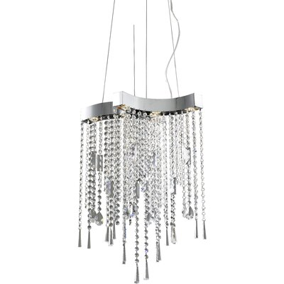 ET2 Crystal Sensation 6 Light Pendant