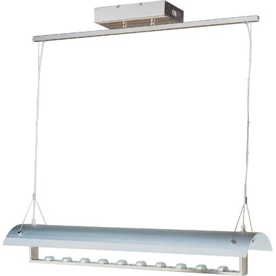 Wildon Home ® Linea 10 Light Linear Pendant
