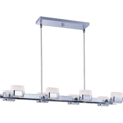 Wildon Home ® Serena 8 - Light Linear Pendant