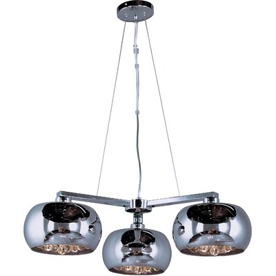 Wildon Home ® Satie 3 - Light Multi - Light Pendant