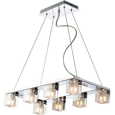 Wildon Home ® Speech 8 - Light Linear Pendant