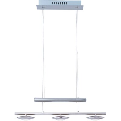 Wildon Home ® Leelee 3 - Light Linear Pendant