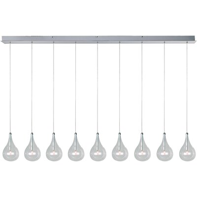 ET2 Sklo 9 - Light Linear Pendant
