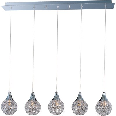 Wildon Home ® Vibrato 5 - Light Linear Pendant