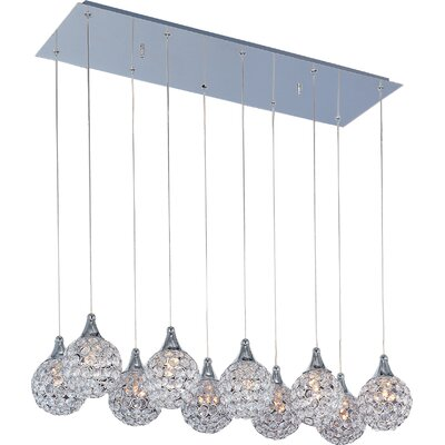 Wildon Home ® Vibrato 10 - Light Linear Pendant