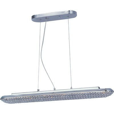 ET2 Brilliant 6 Light Linear Pendant