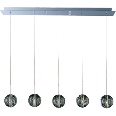 Wildon Home ® Celeste 5 - Light Linear Pendant