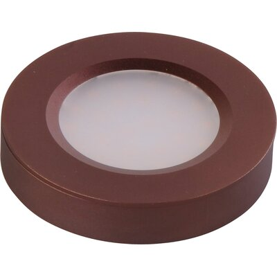 Wildon Home ® CounterMax MX-LD-R LED Under Cabinet Light Disc Add-On Light