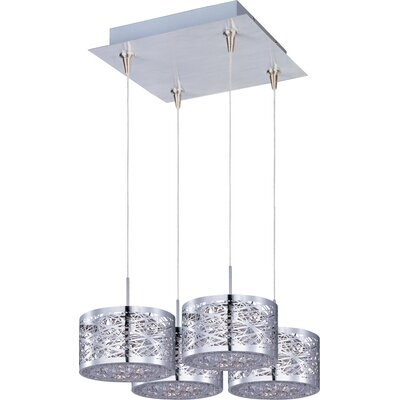 Wildon Home ® Minx 4 Light Drum Pendant