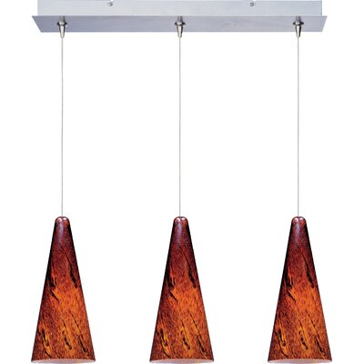 Wildon Home ® Minx 3 Light Linear Pendant