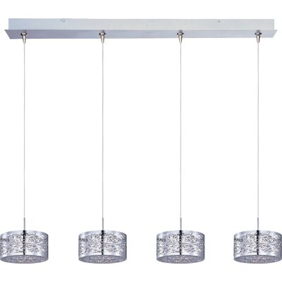 Wildon Home ® Minx 4 Light Linear Pendant