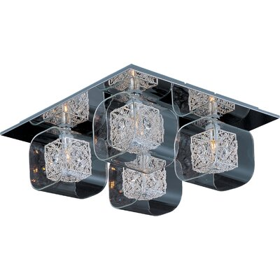 Wildon Home ® Tierra 4 - Light Flush Mount