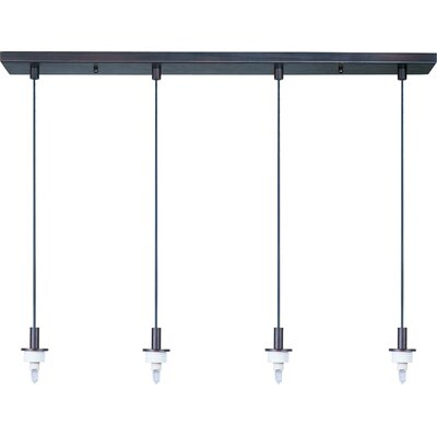 Wildon Home ® Carte 4 Light Pendant Frame