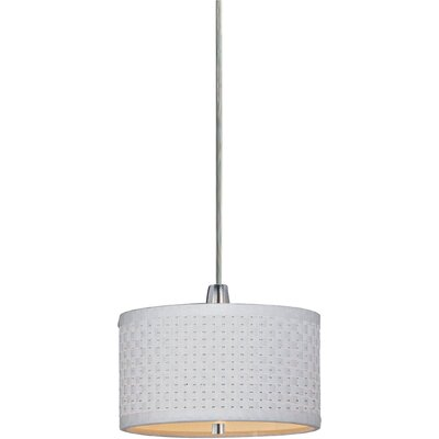 Wildon Home ® Elements 1 Light Mini Drum Pendant