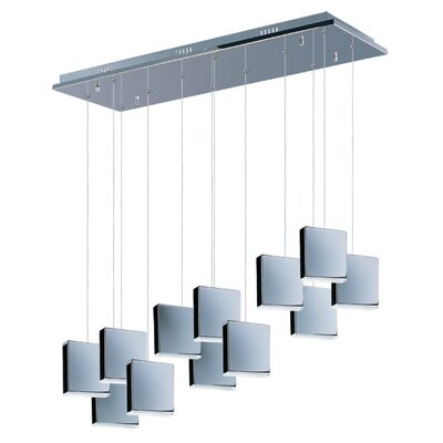 ET2 Brick 7 Light Kitchen Pendant LIghting