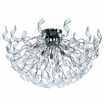 Wildon Home ® Sureka 6 - Light Flush Mount