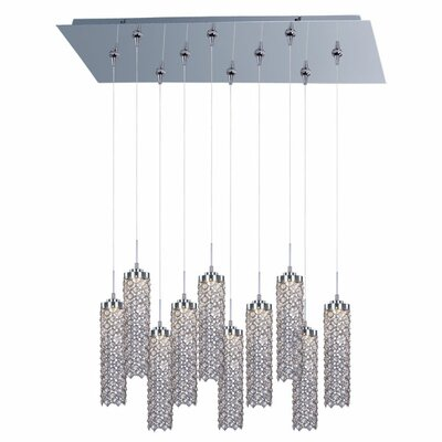 Shanell 10 Light Linear Pendant
