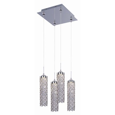 ET2 Shanell 4 Light Mini Pendant