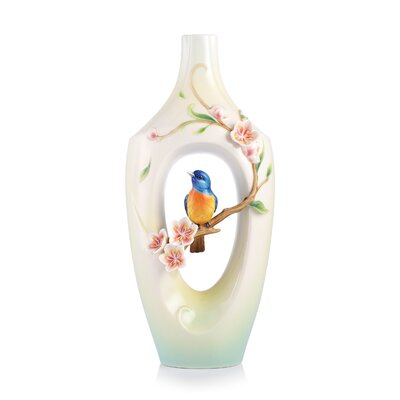 The Golden Years Plum Blossom Vase