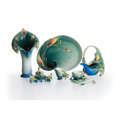 Franz Collection Peacock Splendor Porcelain Collection