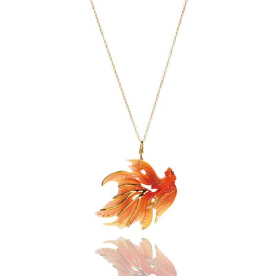 Franz Collection Goldfish Pendant
