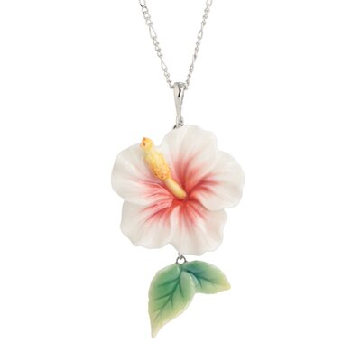 Franz Collection Island Beauty Hibiscus Necklace