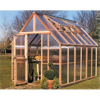 Sunshine Gardenhouse 4' Extension Kit for Mt. Rainier 8' x 12' GardenHouse