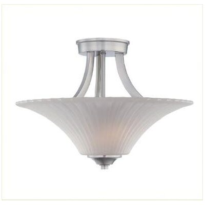 Dolan Designs Teton 2 Light Semi Flush Mount
