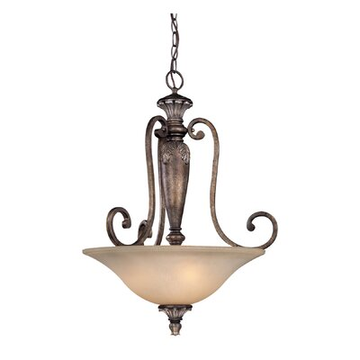 Dolan Designs Greta 3 Light Inverted Pendant