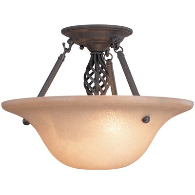 Dolan Designs Atlantis 2 Light Semi Flush Mount