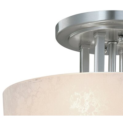 Dolan Designs Uptown 3 Light Semi Flush Mount