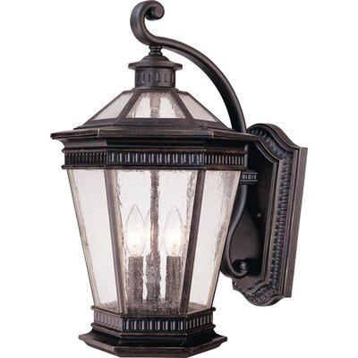 Dolan Designs Vintage 3 Light Outdoor Wall Lantern