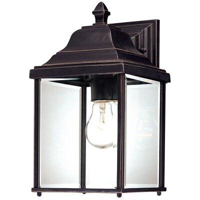 dolan designs charleston 1 light outdoor wall lantern reviews