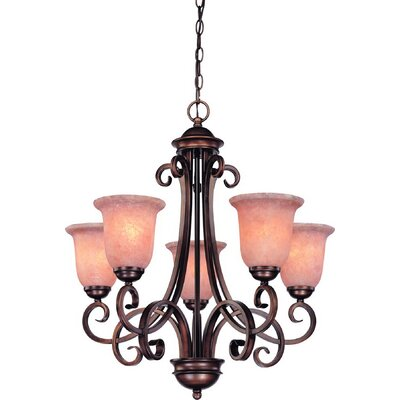 Dolan Designs Medici 5 Light Up Chandelier