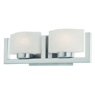 Dolan Designs Uptown  Vanity Light  in Satin Nickel