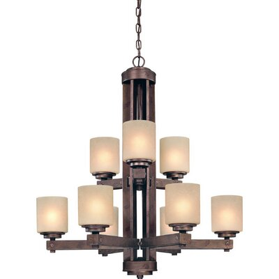 Dolan Designs Sherwood 9 Light Chandelier