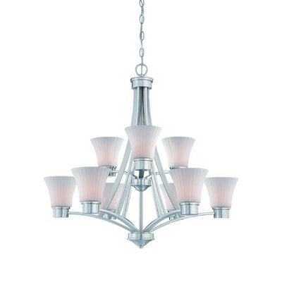 Dolan Designs Teton 9 Light Chandelier